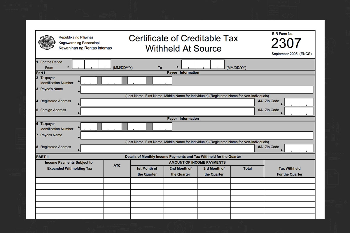 BIR Form 2307 – The What, When, and How